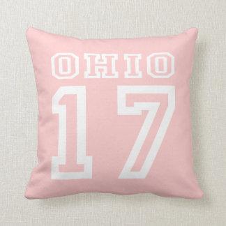 Ohio 17 pillow