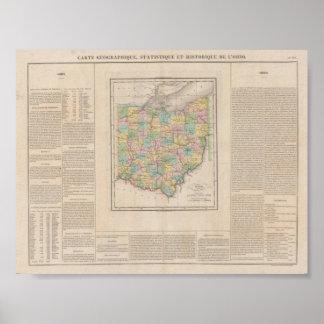Ohio 1825 poster