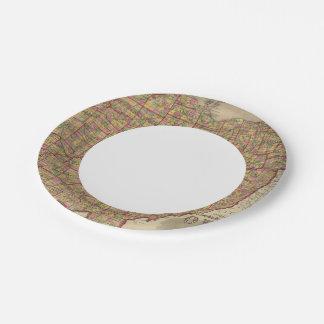 Ohio 3 paper plate