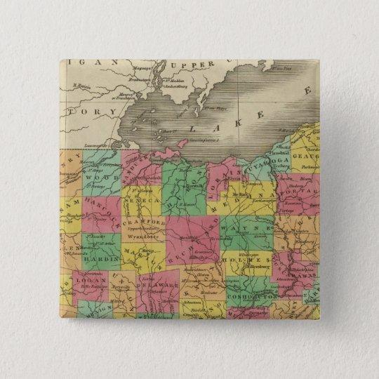 Ohio 5 pinback button