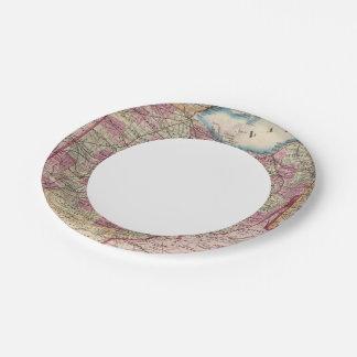Ohio 9 paper plate