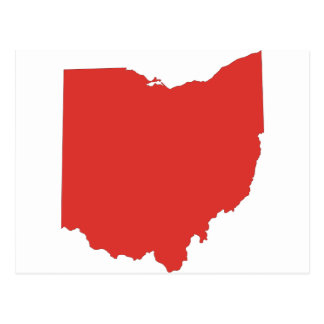 Ohio - a RED State Postcard
