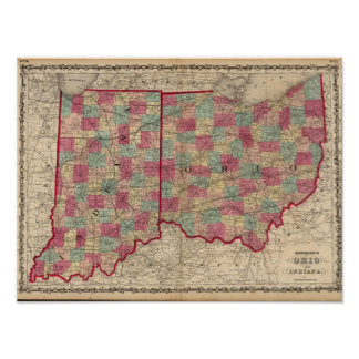 Ohio and Indiana 3 Poster