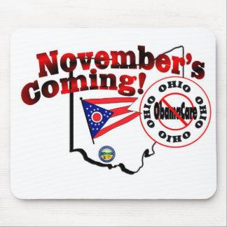 Ohio Anti ObamaCare – November's Coming! Mousepad