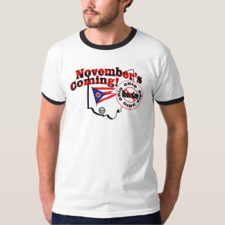 Ohio Anti ObamaCare – November's Coming! T-Shirt