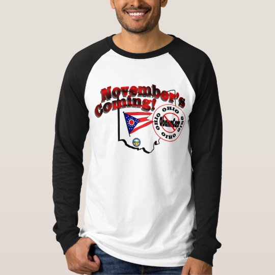 Ohio Anti ObamaCare – November's Coming! T-Shirt