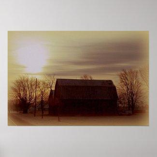 Ohio Barn print
