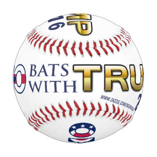 Ohio Bats With Trump 2016 baseball