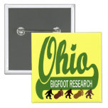 Ohio Bigfoot Research Pinback Buttons
