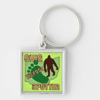 Ohio Bigfoot Spotter Keychain
