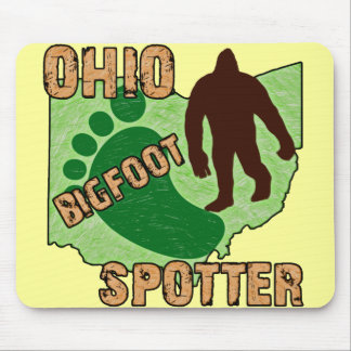 Ohio Bigfoot Spotter Mouse Pad