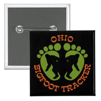 Ohio Bigfoot Tracker Pinback Buttons
