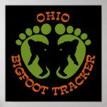 Ohio Bigfoot Tracker Poster