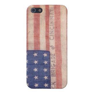 Ohio Black Brigade Flag iPhone Case
