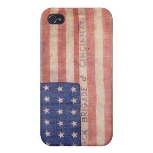 Ohio Black Brigade Flag iPhone Case iPhone 4 Covers