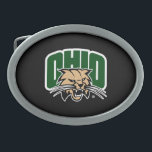 "Ohio Bobcat Logo Belt Buckle<br><div class=""desc"">Check out these new Ohio University designs! Show off your OU Bobcat pride with these new Ohio University products. These make perfect gifts for the Bobcats student, alumni, family, friend or fan in your life. All of these Zazzle products are customizable with your name, class year, or club. Go Bobcats!...</div>"