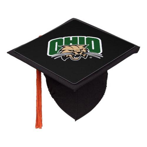 Ohio Bobcat Logo Graduation Cap Topper