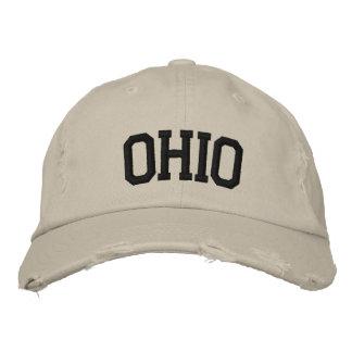 Ohio bordó el gorra gorra bordada