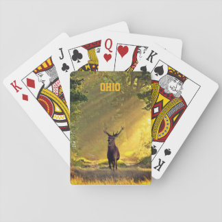 Ohio Buck Deer Playing Cards