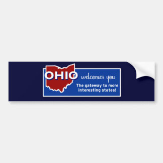 Ohio Pegatina Para Auto