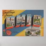 Ohio (Capital del Estado/flor) - escena grande de  Póster