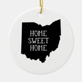 Ohio casero dulce casero adornos de navidad