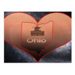 Ohio casero tarjeta postal