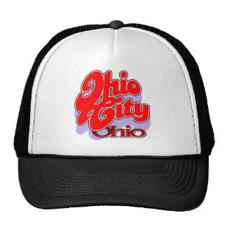Ohio City OH swoop cap Trucker Hat