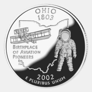Ohio Classic Round Sticker