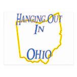 Ohio - colgando hacia fuera tarjetas postales