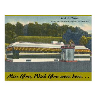 Ohio, comensal de D&B, Akron-Ephrata Tarjetas Postales