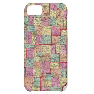 Ohio Counties Cover For iPhone 5C