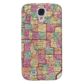 Ohio Counties Samsung Galaxy S4 Cases