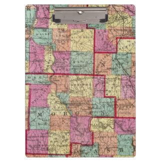 Ohio Counties Clipboard