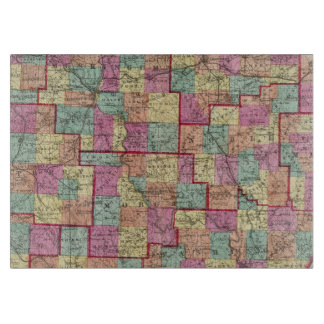 Ohio Counties Cutting Boards