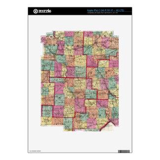 Ohio Counties iPad 3 Skins