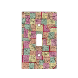 Ohio Counties Light Switch Covers