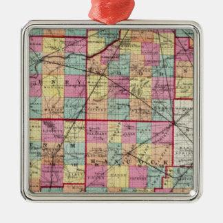 Ohio Counties Ornament