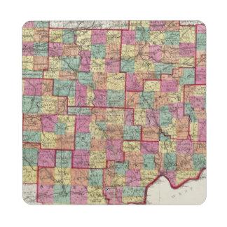 Ohio Counties Puzzle Coaster