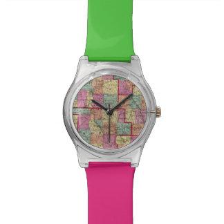 Ohio Counties Wristwatch