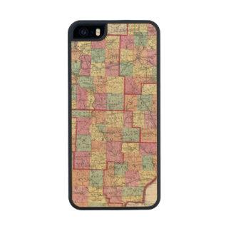 Ohio Counties Carved® Maple iPhone 5 Slim Case
