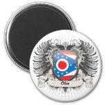 Ohio Crest 2 Inch Round Magnet
