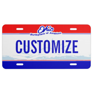 Ohio Custom License Plate