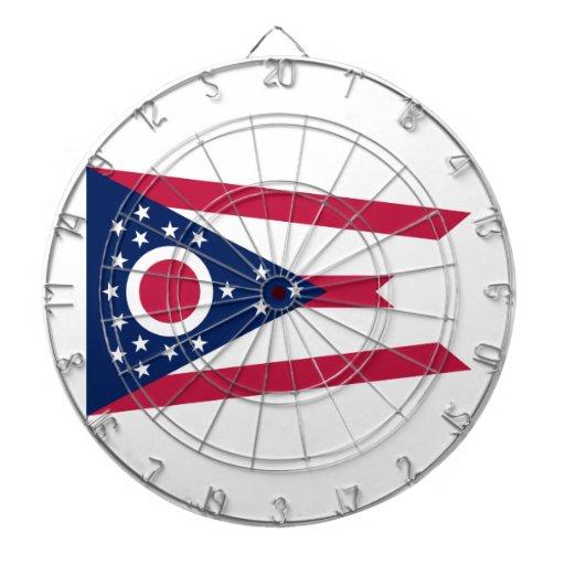 Ohio Dartboard With Darts