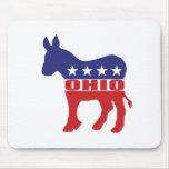 Ohio Democrat Donkey Mouse Pad