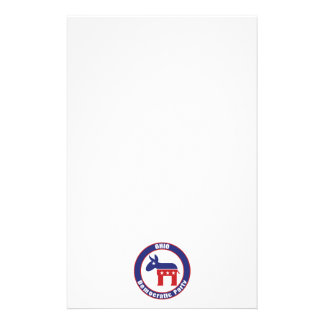 Ohio Democratic Party Stationery