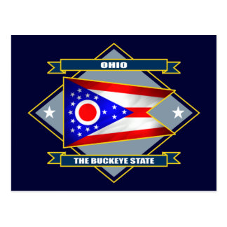 Ohio Diamond Postcard