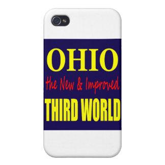 Ohio el TERCER MUNDO nuevo y mejorado iPhone 4 Cárcasa
