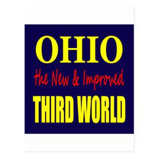 Ohio el TERCER MUNDO nuevo y mejorado Postal