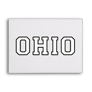 Ohio Envelope